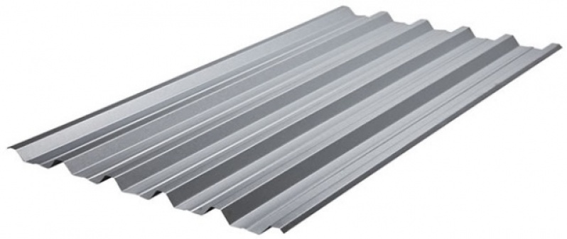 Quanto Custa Telha de Aço Galvanizado Branca Vila Buarque - Telhas de Aço Galvanizado Trapezoidal