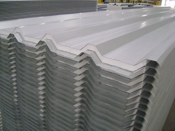 Telha de Aço Galvanizado Branca Preço Penha - Telhas de Aço Galvanizado Trapezoidal