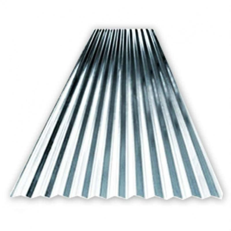 Telha de Aço Galvanizado Revestido de Zinco Preço Penha - Telhas de Aço Galvanizado Onduladas