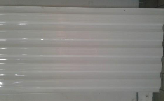 Telha Galvalume Branca Itaquera - Telha Galvalume Transparente