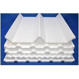 fábrica de telhas galvanizadas com isolamento de isopor Brasilândia