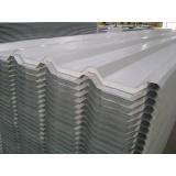 telha de aço galvanizado branca preço no Tremembé