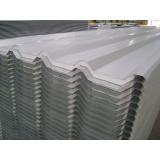 telha de aço galvanizado revestido de zinco Aricanduva