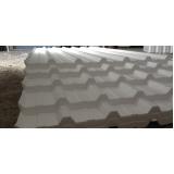 telha isopor trapezoidal preço no Rio Pequeno