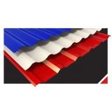 telhas de aço galvanizado pintadas Lapa