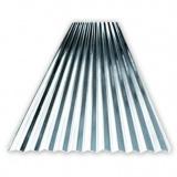telha de aço galvanizado revestido de zinco