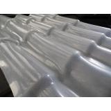telha de fibra de vidro colonial