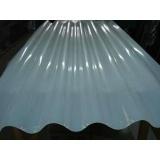 telha fibra de vidro leitosa