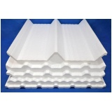 telhas de zinco com isopor preço Água Branca