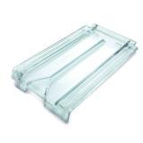 telha francesa de vidro transparente