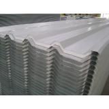telhas galvanizadas com isolamento térmico Cotia