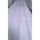 valor de telha galvalume branca Água Branca