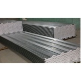 venda de telha aço galvanizado termoacústica em Guaianases