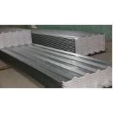venda de telha de aço galvanizado revestido de zinco no Brás